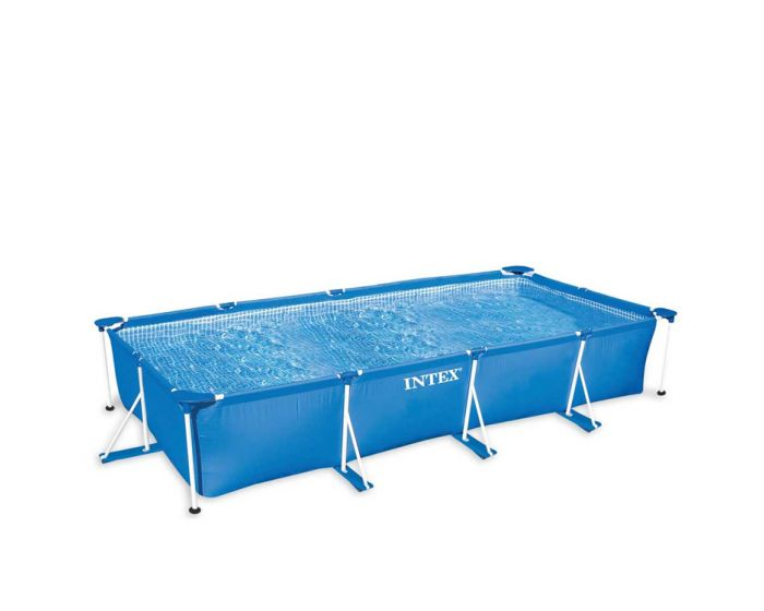 INTEX™ Metal Frame Piscina - 450 x 220 cm