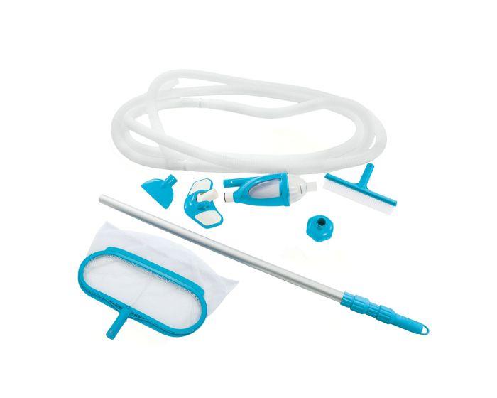 Kit di pulizia per piscina INTEX™ Deluxe - Ø 29,8 mm attacco (asta inclusa)