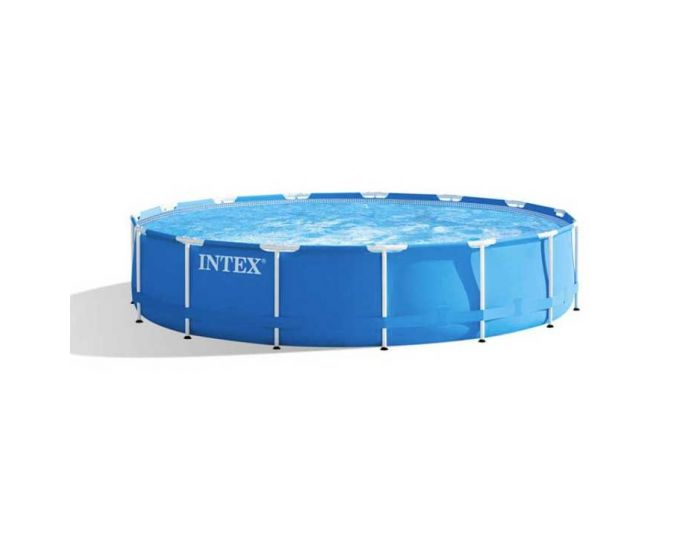 INTEX™ Metal Frame Piscina - Ø 457 x 84 cm (set)