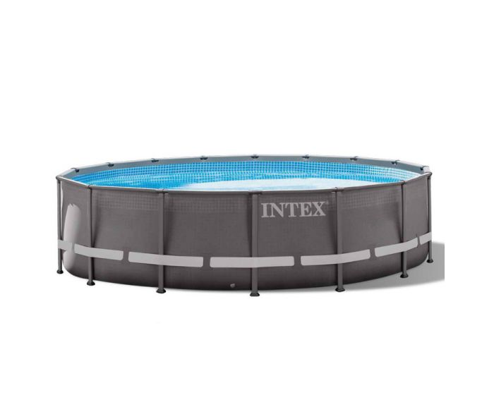 INTEX™ Ultra Frame Piscina Ø 488 cm (set incl. Pompa di filtrazione a sabbia)
