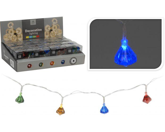 Illuminazione a LED 10 multicolore