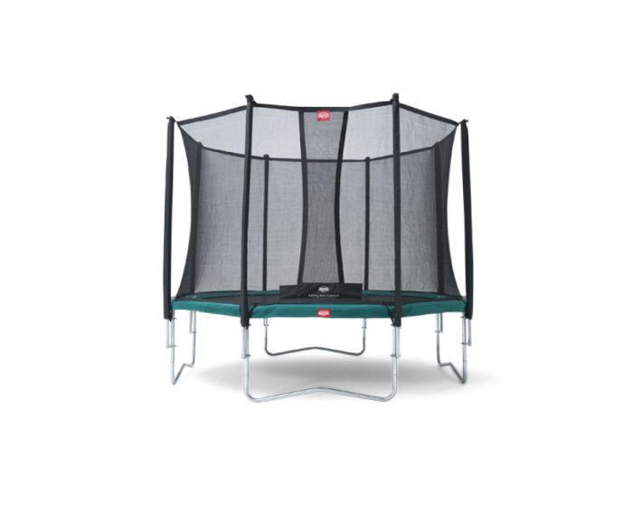 Trampolino elastico BERG Favorit 380 + rete di sicurezza Comfort