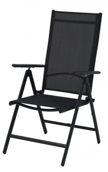 Sedie Da Giardino In Alluminio.Sedia Da Giardino Regolabile Master In Alluminio