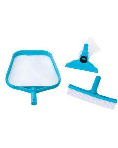 Kit di pulizia per piscina INTEX™ - attacco Ø 26,2 mm (asta esclusa)
