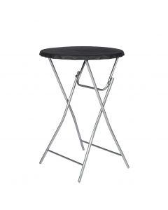 Tavolo da bar pieghevole nero