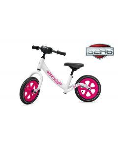 Bicicletta senza pedali BERG Biky bianca/rosa