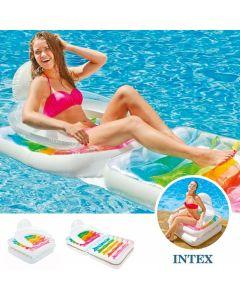 Materassino gonfiabile pieghevole con schienale INTEX™