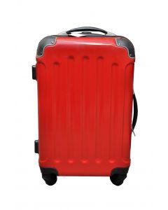 Valigia in vernice rossa 40 litri