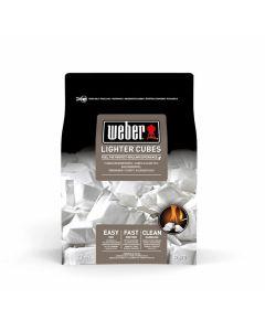 Weber Cubetti accendifuoco, 22 pezzi, bianco