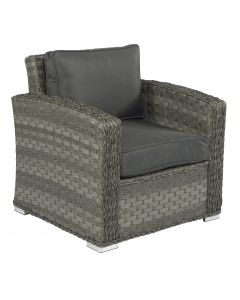 Sedia lounge in wicker Elegante