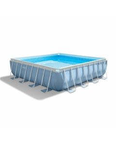 INTEX™ Prism Frame Square Piscina - 488 x 488 cm (set)