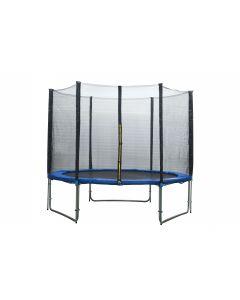 Trampolino elastico Ø 305 cm con bordo di protezione
