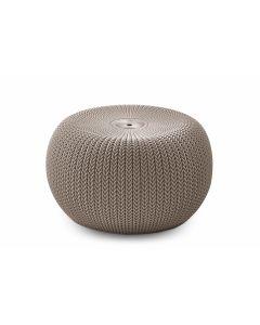 Pouf/sgabello Keter Cozy Seat beige