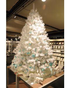 Albero di natale 150 cm Luxe bianco