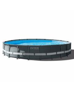 INTEX™ Ultra XTR Frame Piscina - Ø 610 cm (set incl. Pompa di filtrazione a sabbia)