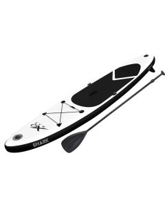 Tavola Gonfiabile da Stand Up Paddle con accessori (nero)
