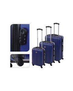 Valigia blu - 61 litri