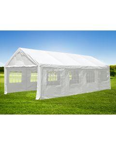 Gazebo per feste 4x8 metri bianco con pareti Pure Garden & Living