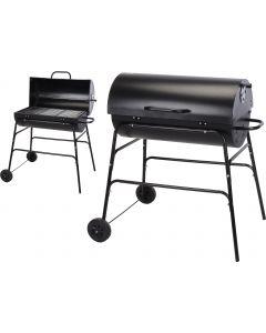 Barbecue a carbonella a cilindro