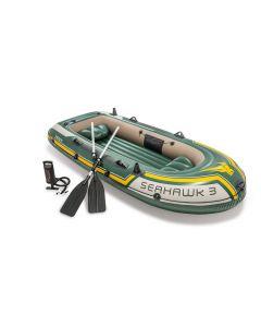 Canotto gonfiabile Intex Seahawk 3 posti (inclusi remi e pompa)