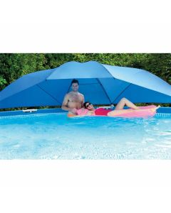 Piscina Intex la tettoia