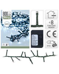 Microcluster 800 lampadine a LED Bianco- 16 m