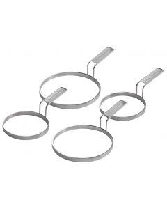 Outdoorchef Set da 4 anelli per piastra