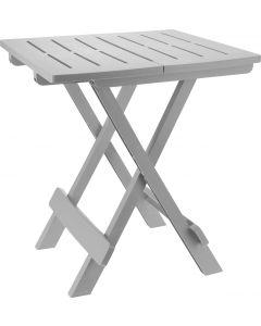Tavolo da campeggio grigio 44x44