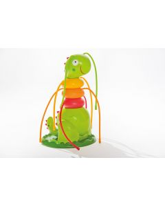 Bruco gonfiabile spruzzatore INTEX™ Friendly Caterpillar