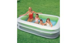Piscina gonfiabile rettangolare INTEX™ Swim Center Family (262 x 175 cm)
