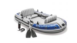 Canotto gonfiabile Intex Excursion 4 posti